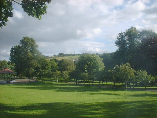 Pontypool Park - with Bandstand on left