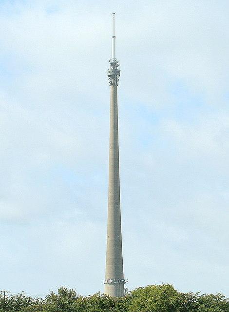 Emley Moor, Transmitter Mast