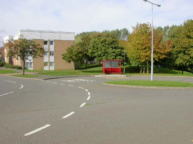 Bus Stop at the End of Montague Crescent