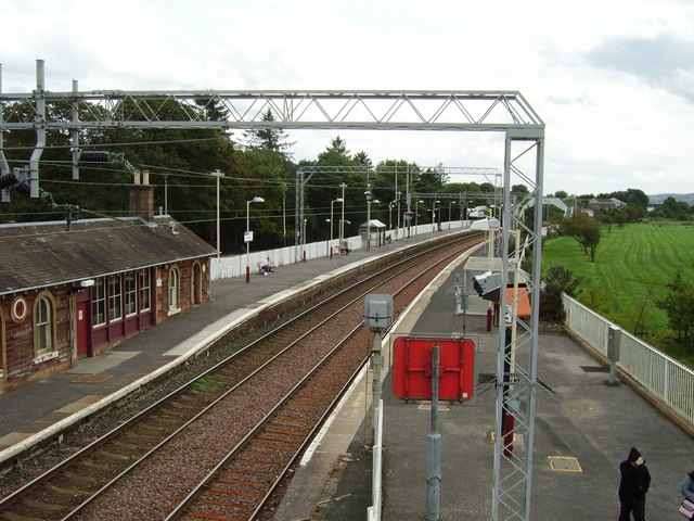 Cardross Railway Station