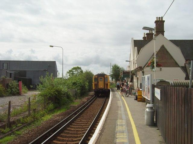 Lymington Town Railway Station