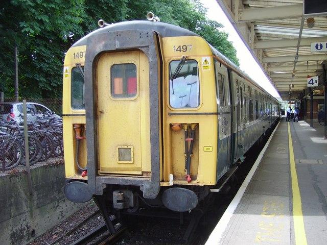 Slam-Door Train at Brockenhurst