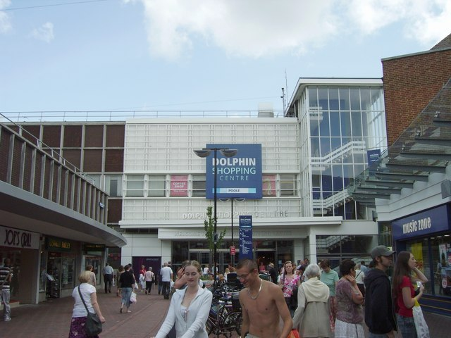 Dolphin Centre entrance, Poole
