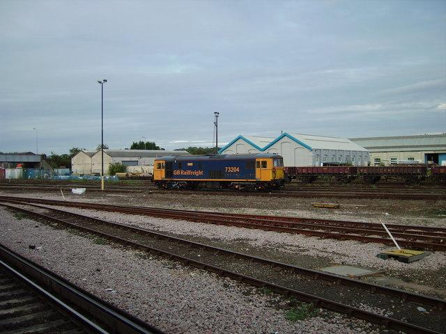 Sidings near Eastleigh station