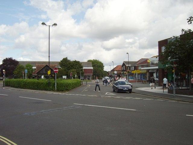 Stubbington village centre