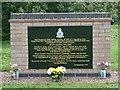 TL3874 : Aeroplane crash memorial by Gordon Brown