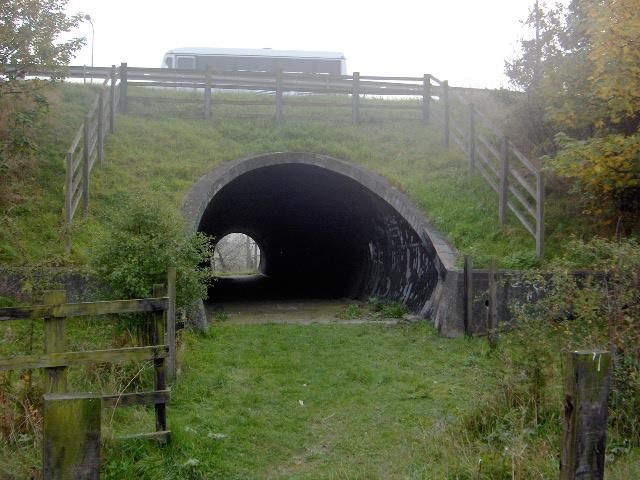 A66 pedestrian tunnel