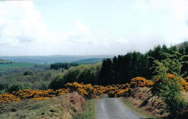 Unclassified road, near Skyreburn