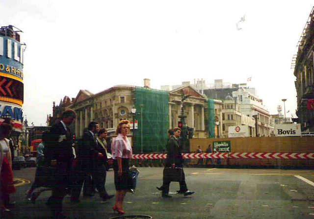 Eros at Piccadilly Circus