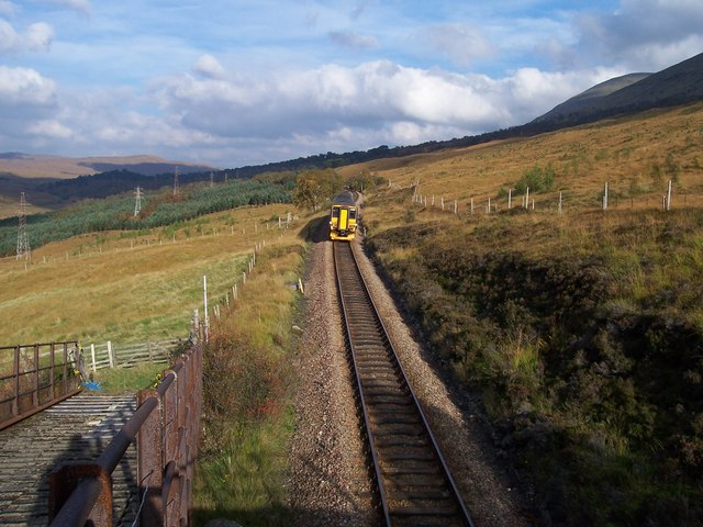 Bridge over West Highland Railway