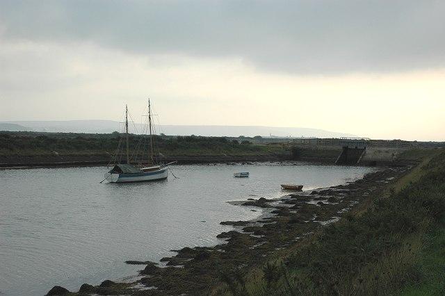 Moses Dock, Lymington Marshes
