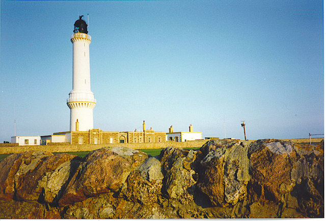 Girdleness Lighthouse, Aberdeen