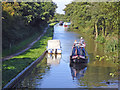 SJ9381 : Adlington: Macclesfield Canal from Braddock's Bridge by Mike Harris
