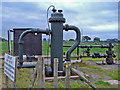 SJ6961 : Warmingham: brine well-head by Mike Harris