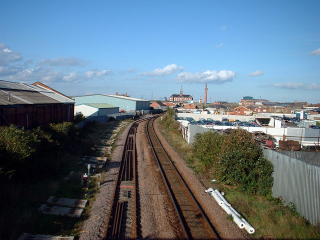 The Line to Grimsby Docks