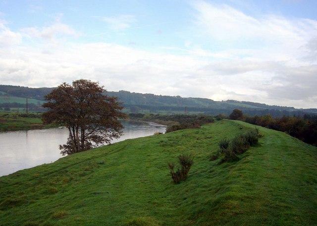 River Tyne at  Widehaugh.