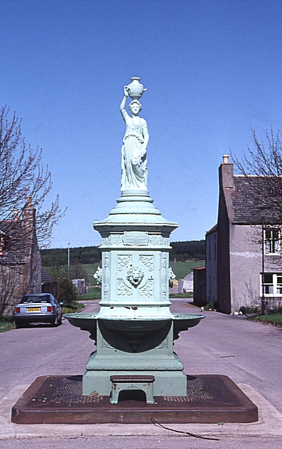 Ornamental Drinking Fountain, Tomintoul