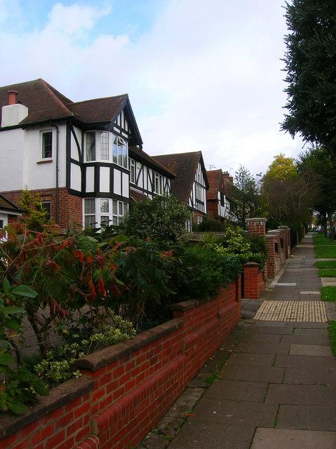 Mock Tudor Houses, Radinden Manor Road