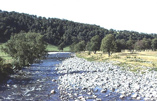 River Avon at Delnabo Bridge