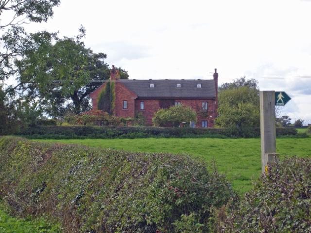 Acton by Nantwich: view towards Corner Farm