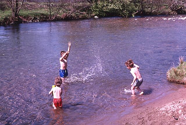 River Avon at Delavorar