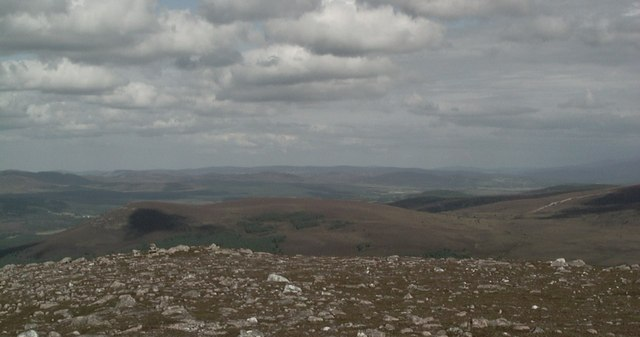 On the summit of Cnoc Fraing