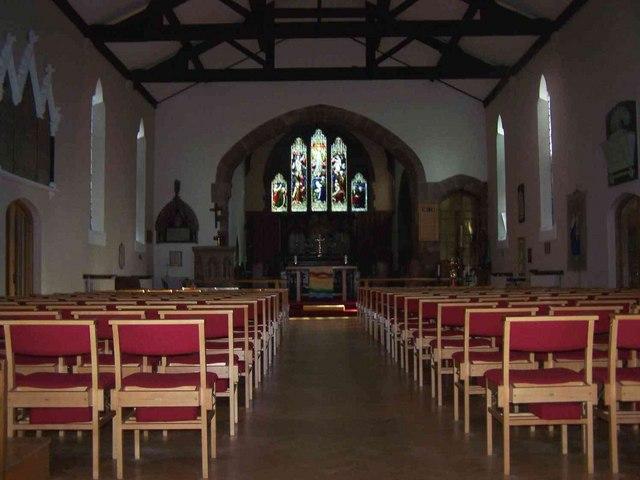 Interior of St. Michael & All Angels, Pelsall