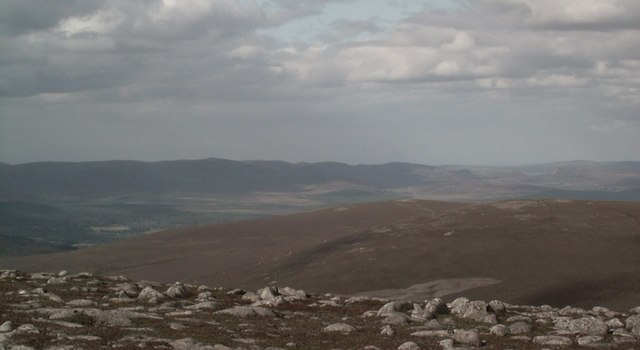 On the summit of Geal charn Mor