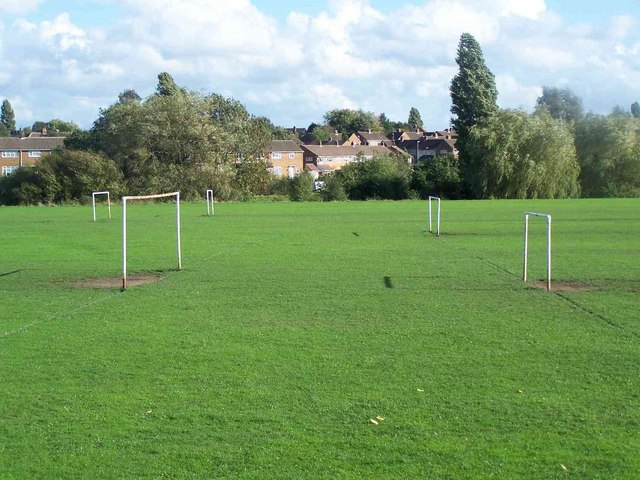 Football Pitches near Rushall JMI School