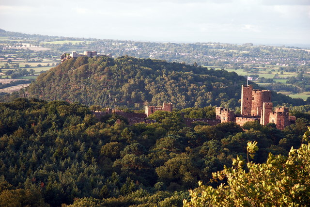 Peckforton and Beeston Castles