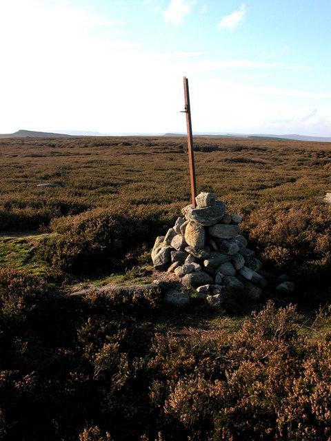 Cairn on Burbage Moor