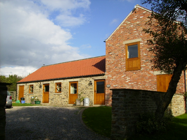 Barn conversion at High Stittenham