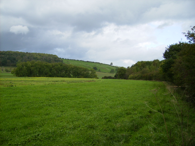 View along the north side of Stittenham Wood towards Mowthorpe