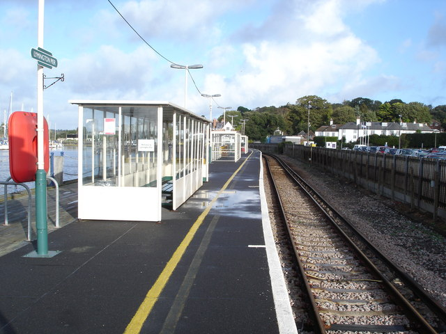 Lymington Pier Railway Station