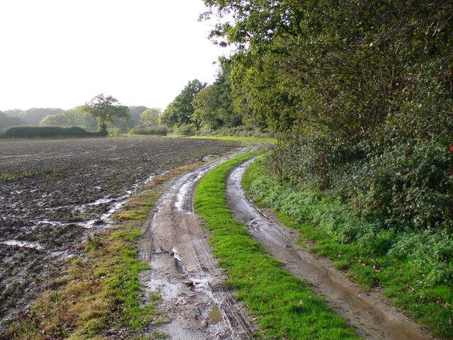 Track to Slathurst Farm