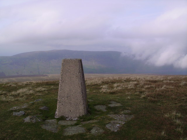 Trig Pillar Crag Hill