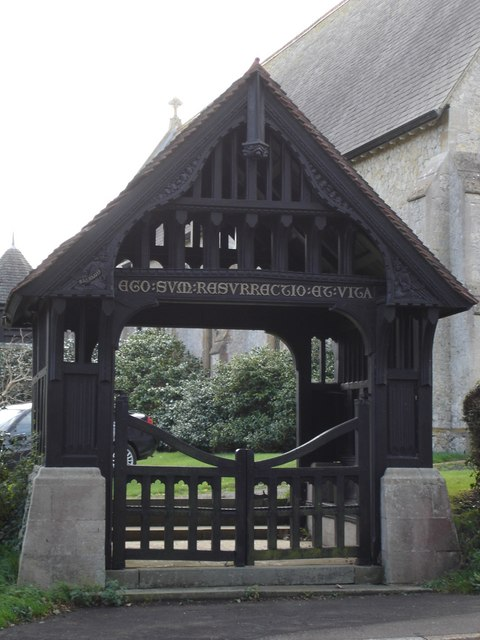 Lychgate of Christ Church, Totland