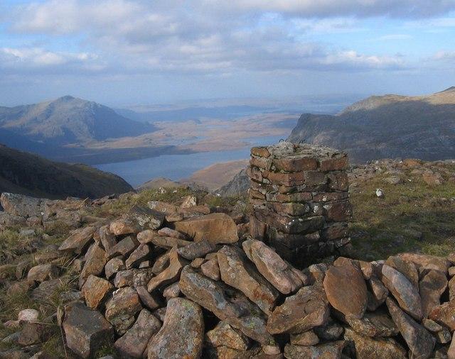 Summit Cairn, Ruadh Stac Mor