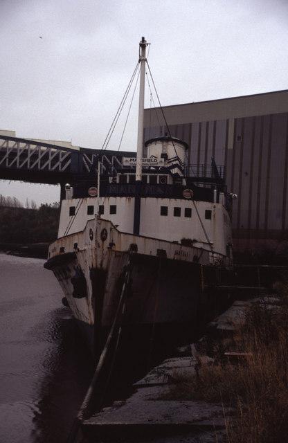 SS Manxman at Pallion Engineering, Sunderland