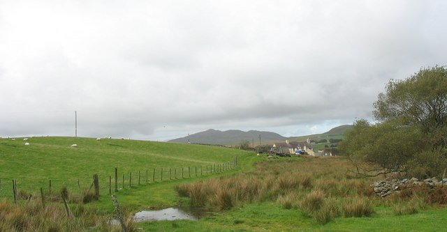 A ford on the track to Ynys Wen