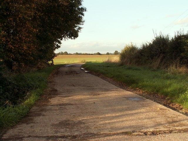 Road to Frame Farm