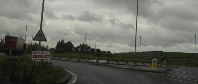A628 Roundabout