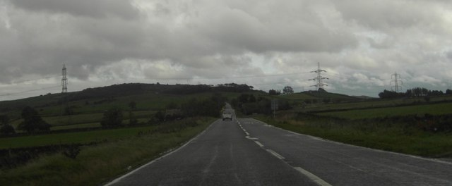 A628 near Fullshaw Farm