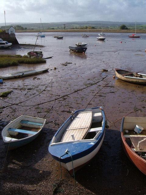 River Exe from Museum garden, Topsham