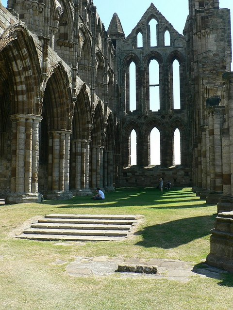 Chancel of Whitby Abbey