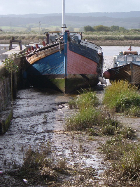 Boats at Topsham