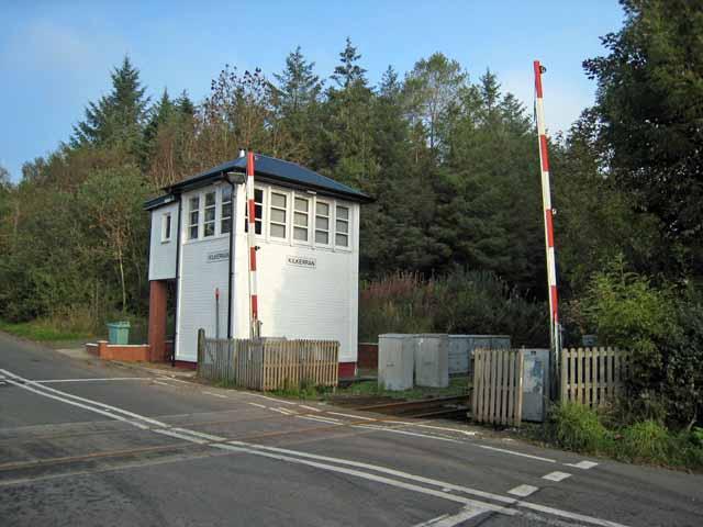 Signalbox at the old Kilkerran station
