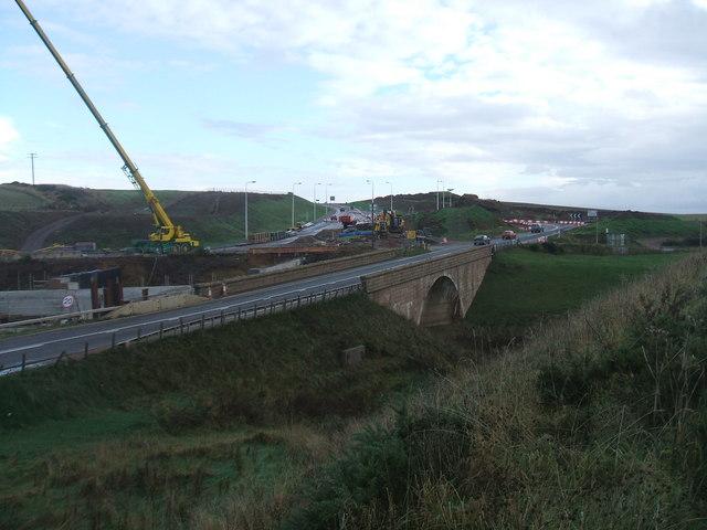 Bridgend major road works