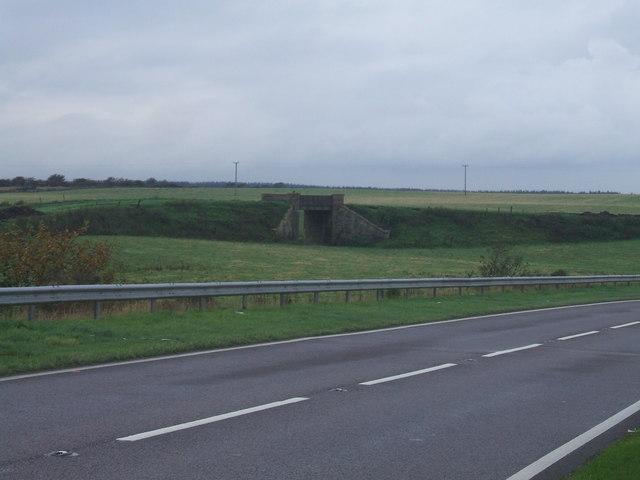 Old bridge  at East Auchmaud