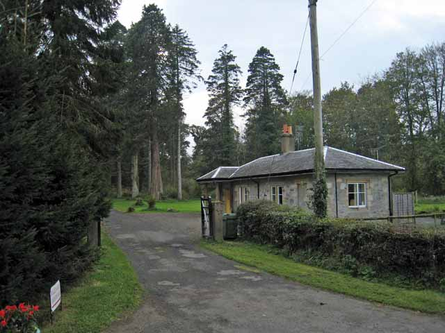 Lodge and entrance to Kilkerran Estate
